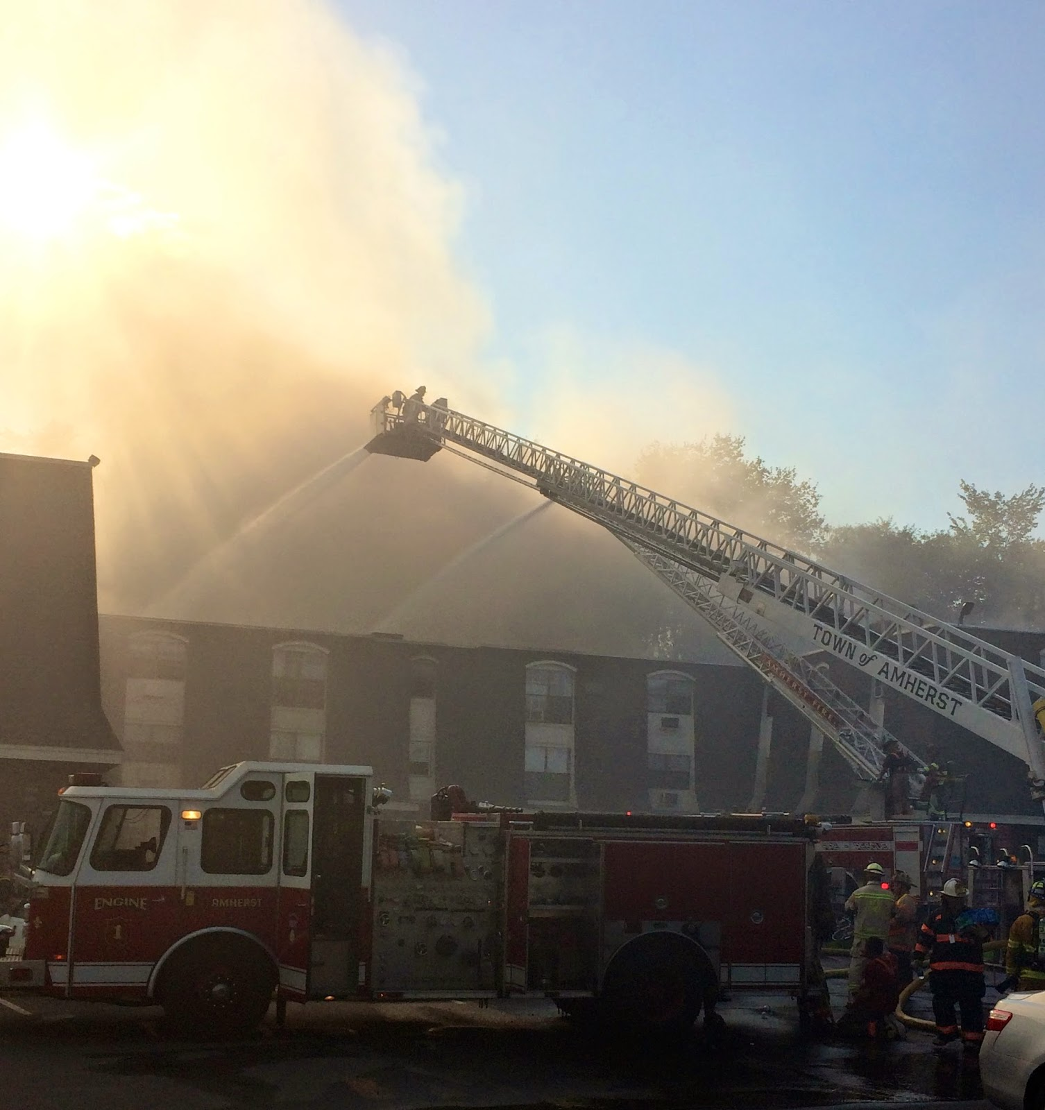 Southpoint Apartments: Only In The Republic Of Amherst: Fireground Southpoint