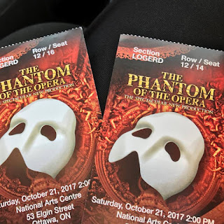 broadway across canada, phantom of the opera, musicals, date night, NAC, National Art Center