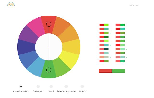 موقع Color Supply لإختيار ألوان التصميم