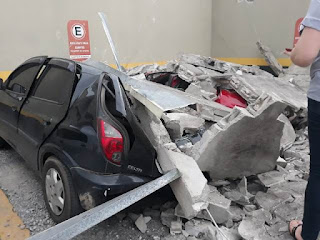 Prefeitura de Registro-SP avalia estragos após temporal do fim de semana