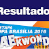 Resultado da I Etapa da Copa Brasília 2016