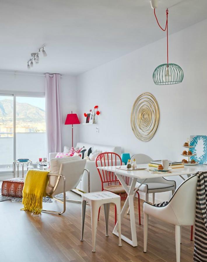 decorar un piso de veraneo