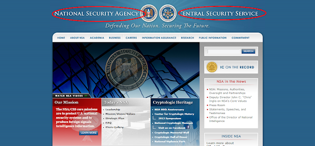 Domestic Surveillance Site makes fun of OBAMA adminstartions transperency policy through parody of National Security Agency (NSA) website