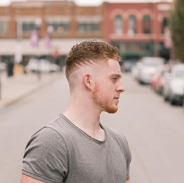 Cortes de cabello para caballero con rayas