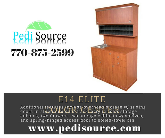 E14 Elite Color Center for pedisource