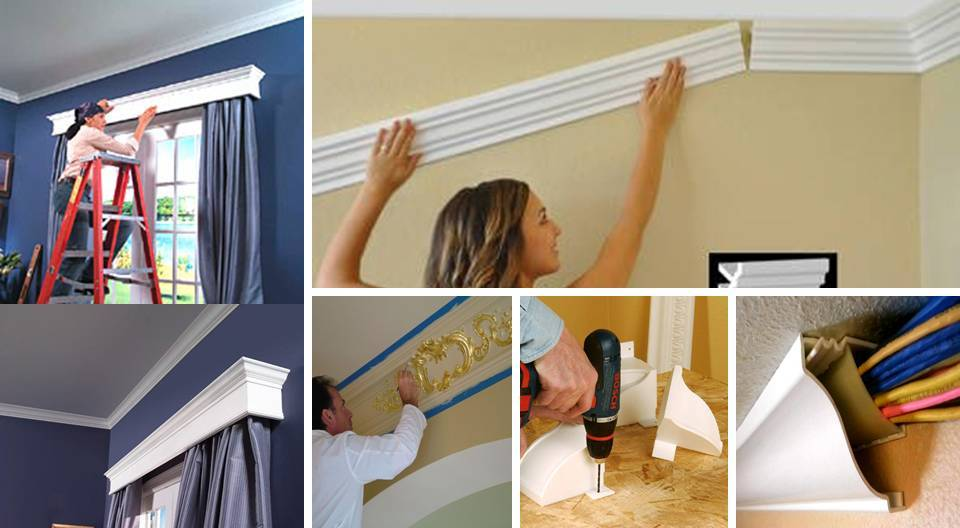 Install Easy Crown Molding Ceiling