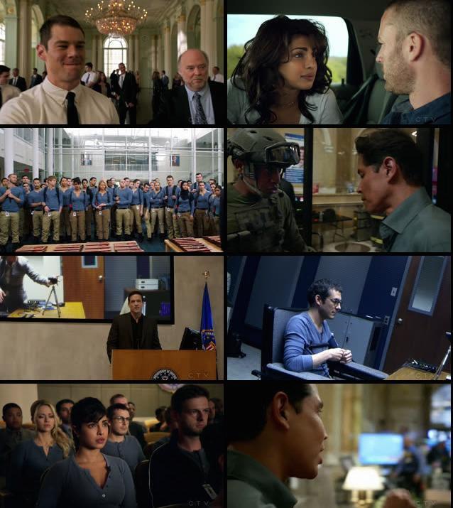 Quantico S01E01 HDTV 480p x264 300MB
