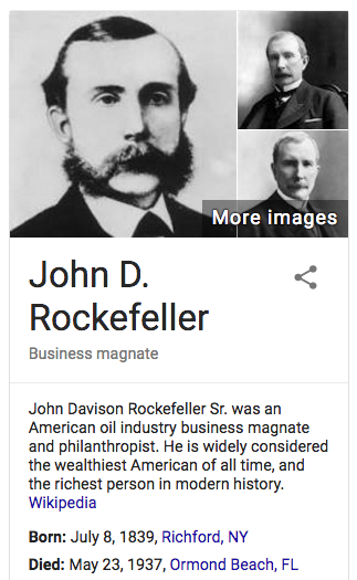 an overview of the john d rockefellers american business John d rockefeller: john d rockefeller timeline from american experience: the rockefellers  cornelius vanderbilt: cornelius vanderbilt from the new york times in this lesson, you and your students will attempt to establish a distinction between robber barons and captains of industry.