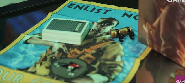 Echa un vistazo al unboxing de la edición coleccionista de Battlefield 1