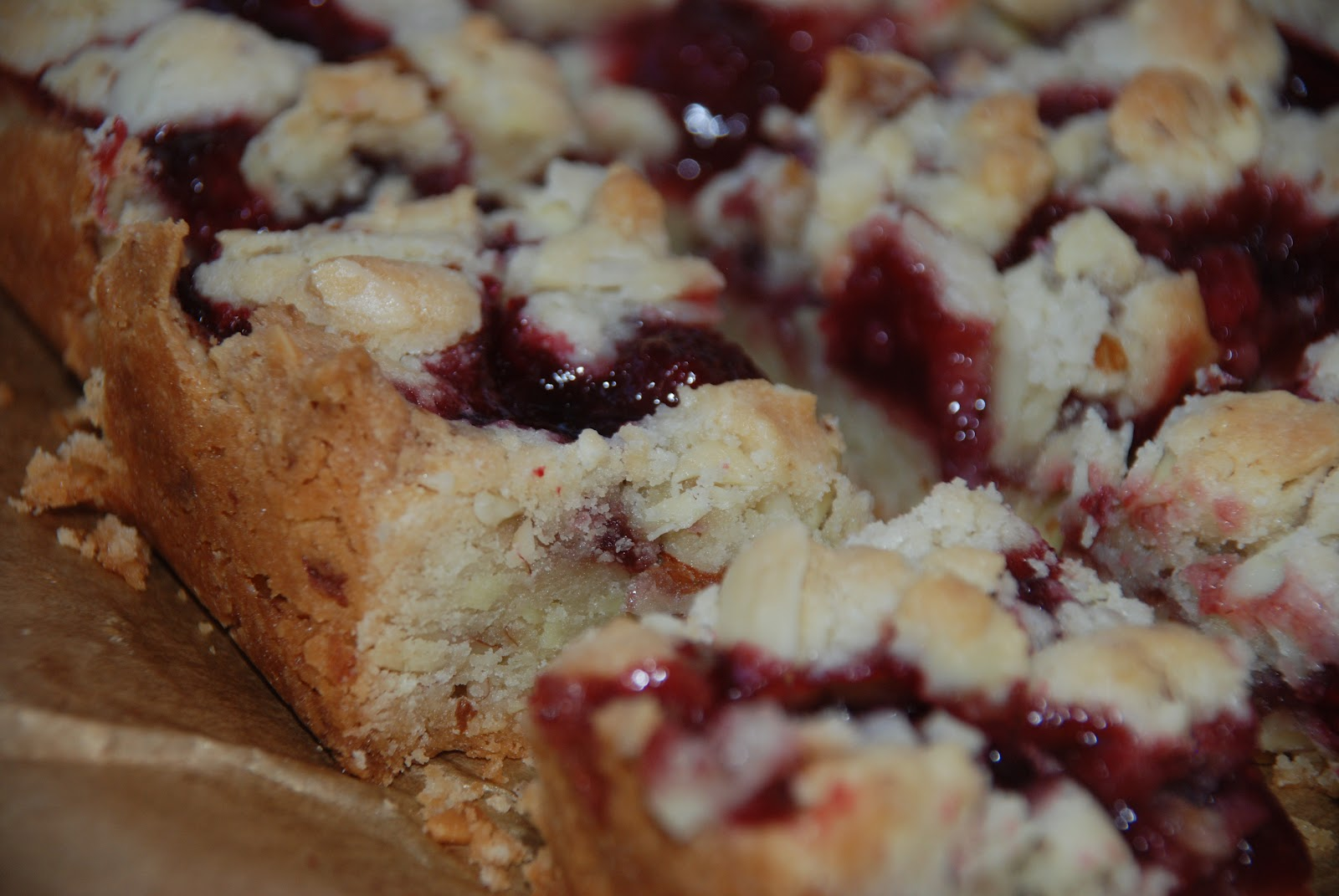 Baking and Creating with Avril: FRESH Raspberry Crumb Bars