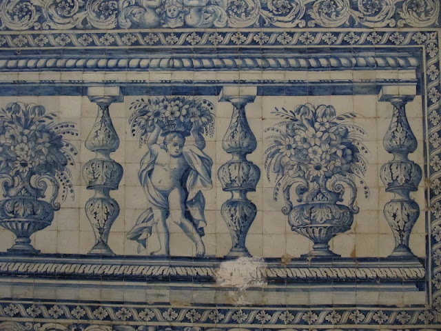 Title: Azuleyo tiles somewhere in Portugal, Source: own resources, Authors: Agnieszka and Michał Komorowscy