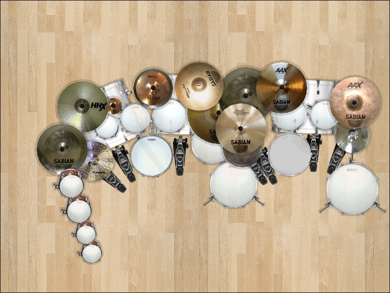 Customize Your Own Drum Set!