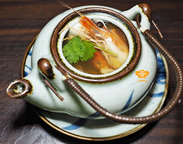 Dobin Mushi – Tea Pot Clear Soup Ishin Japanese Restaurant Old Klang Road