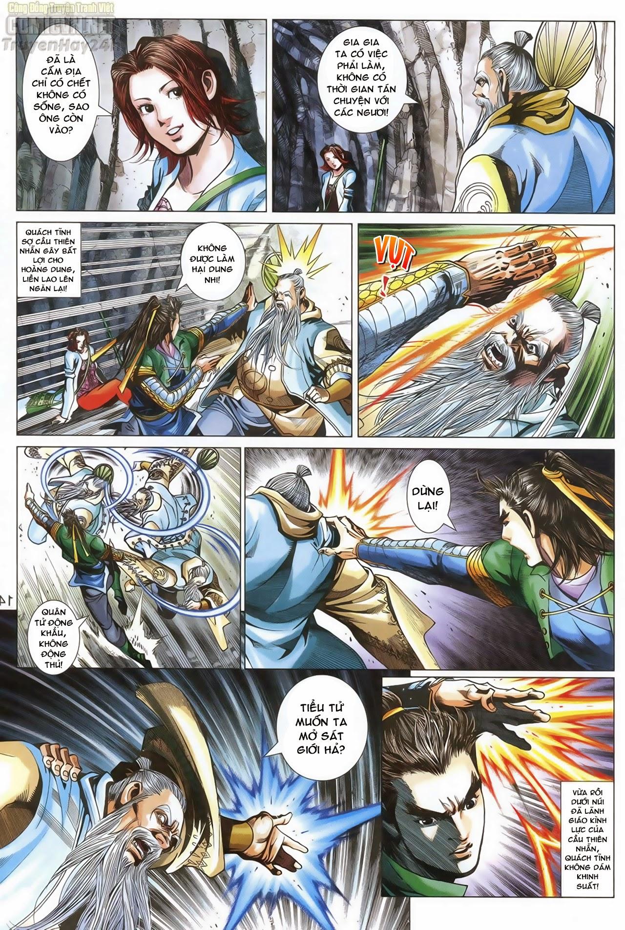 Anh Hùng Xạ Điêu anh hùng xạ đêu chap 69: hồn đoạn thiết chưởng phong trang 15
