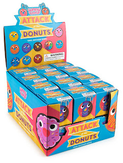 NEW Yummy World Attack of the Donuts Keychains by Kidrobot