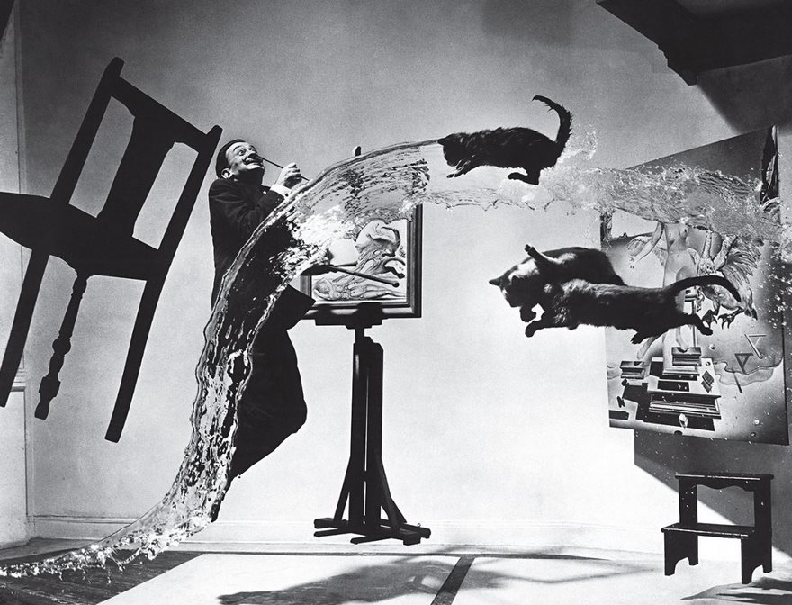#21 Dalí Atomicus, Philippe Halsman, 1948 - Top 100 Of The Most Influential Photos Of All Time
