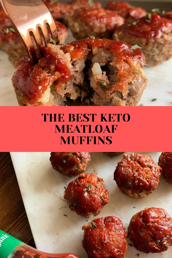 THE BEST KETO MEATLOAF MUFFINS #keto #meatloaf