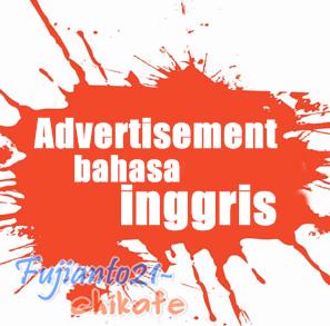 5 Contoh Advertisement Iklan Text Dan Gambar Bahasa Inggris