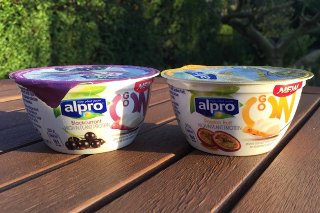 Alpro Go On Yoghurts