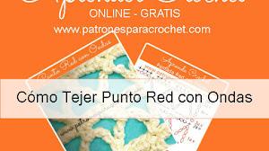 Cómo Tejer Punto Red Paso a Paso / Aprendemos Crochet