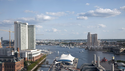 Inner Harbor - Baltimore in Maryland