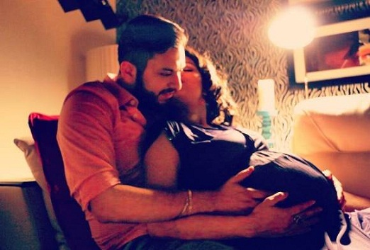 Reality TV celeb Dimpy Ganguly has announced her pregnancy by posting an adorable with her husband Rohit Roy.   The photo shows the heavily pregnant Dimpy Ganguly sitting on her husband's lap and kissing him. Posted on her Instagram page it also comes with an emotional caption: She says she had lost everything, but he came by to give her everything.