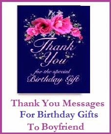 Thank You For The Surprise Gift : thank, surprise, Thank, Messages!, Birthday, Gifts