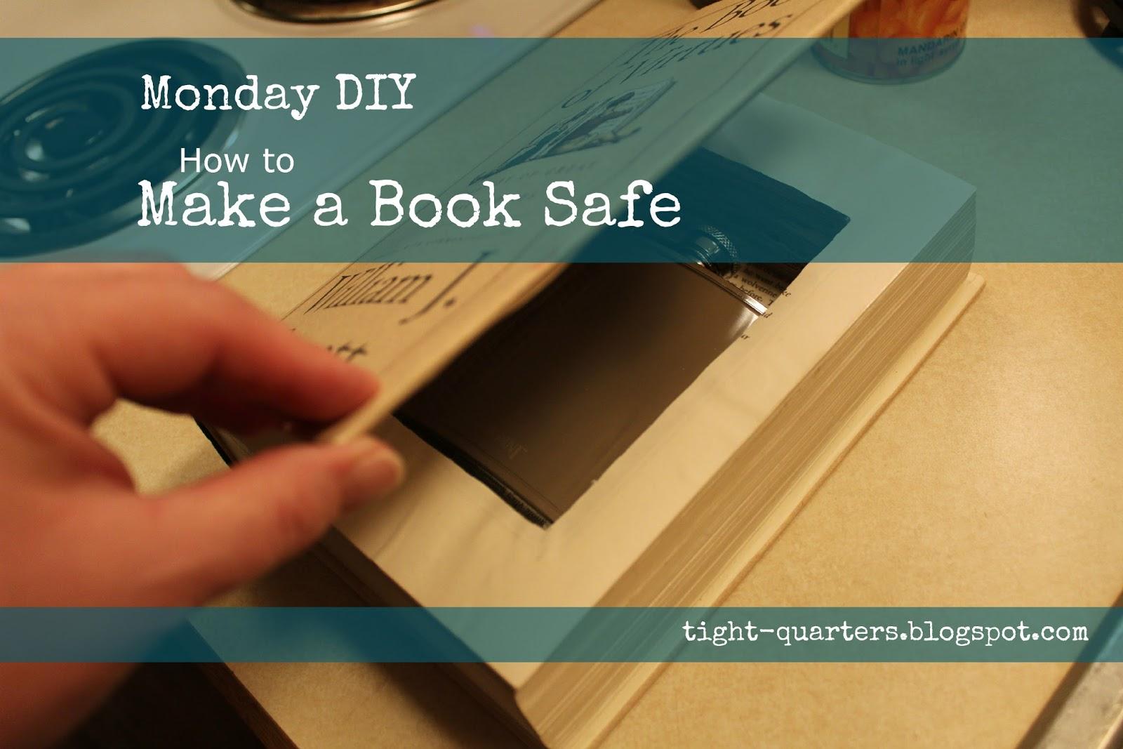 Portlandia Pam Monday Diy How To Make A Book Safe