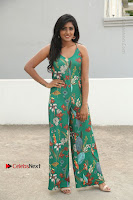 Actress Eesha Latest Pos in Green Floral Jumpsuit at Darshakudu Movie Teaser Launch .COM 0003.JPG