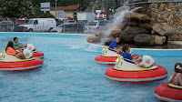 Water Fun in Blaster Boats at Bear Country