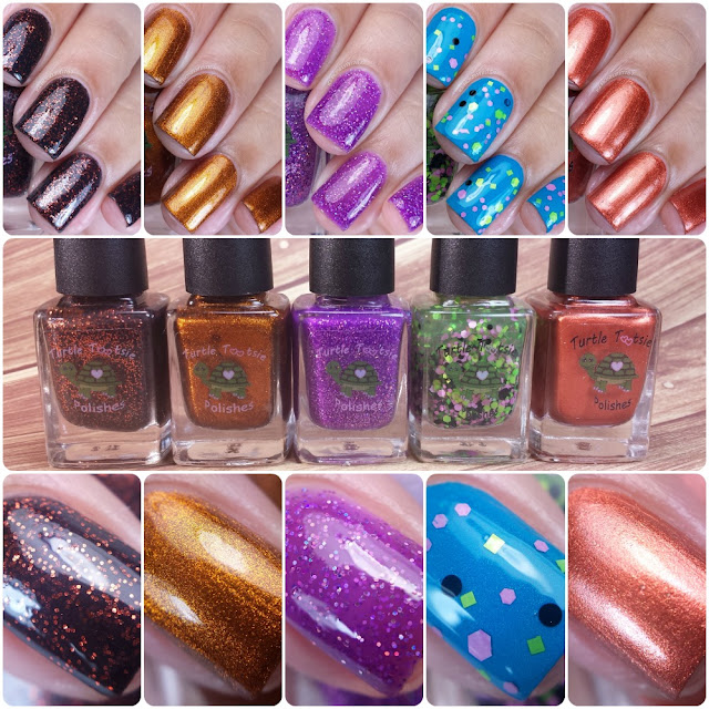 Turtle Tootsie Polishes - Halloween 2015 Collection