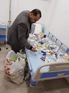 *وكيل وزارة الصحة بالبحر الأحمر يوجه بحملة تفتيش صيدلي بمدينه القصير