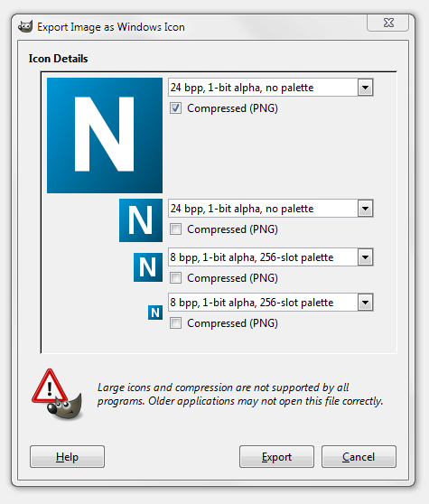 WPF: How to add an icon for entire application