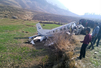 kasthamandap air place crash killed 2 pilots