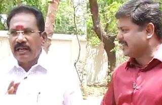 Exclusive 13-05-2017 Kelvi Kanaikal Sellur Raju, Co-operation minister