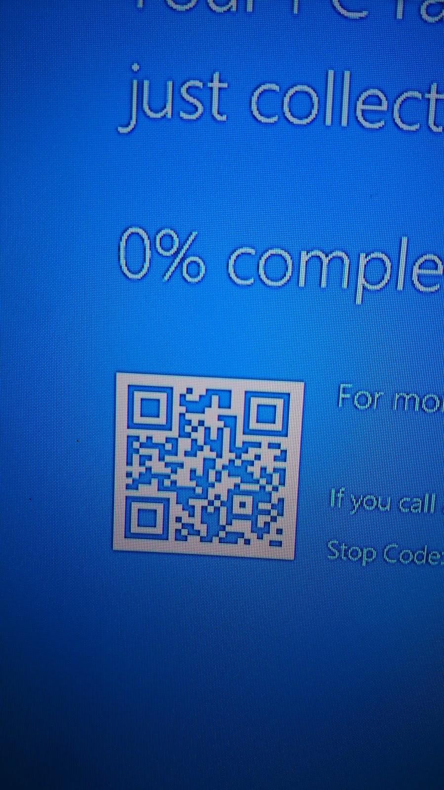 Windows 10 BSODs gets a facelift :) | Kunmi's Space
