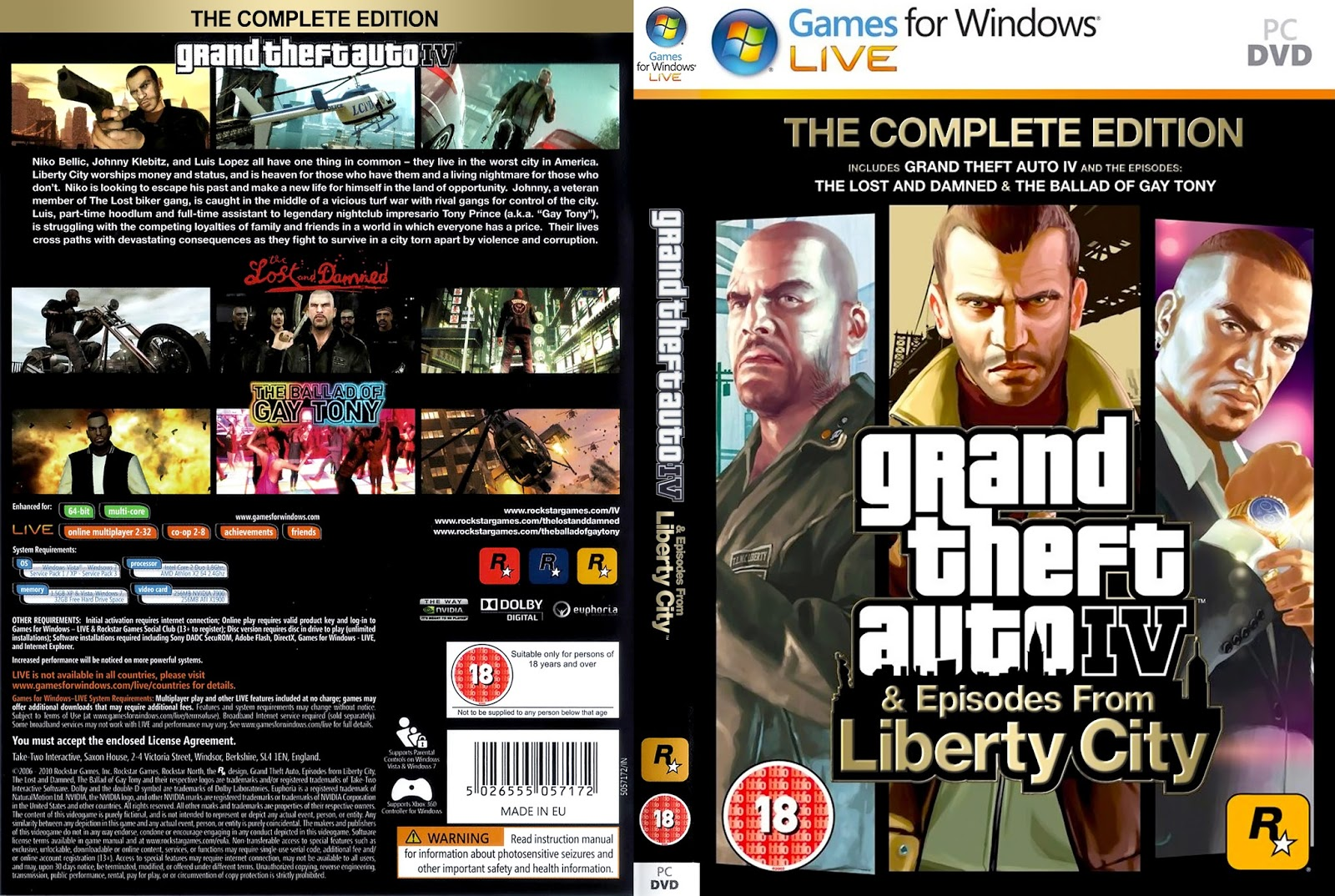 How to download gta iv complete edition for free pc!!!! Youtube.
