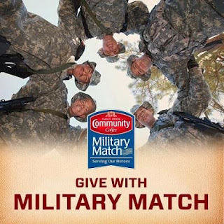 military match commuinty coffee banner