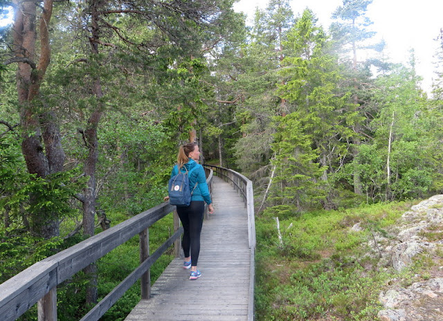 Vandring på Skuleberget