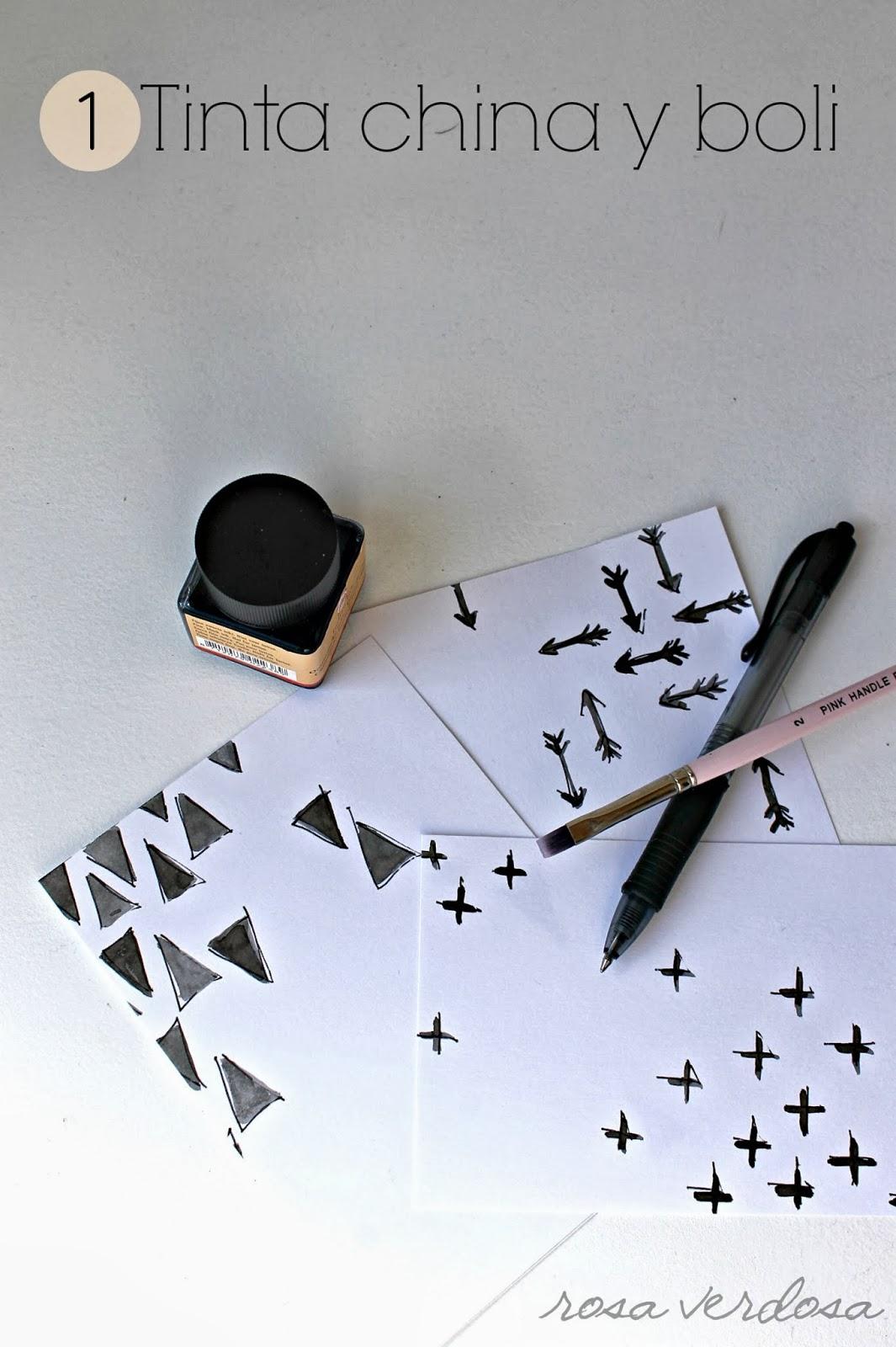 Scrapbook ideas china - La Primera Idea Es Usando Los Pinceles La Tina China Y Los Bolis Personalmente Es La Que M S Me Gusta No Te Asustes Si Los Pinceles Y Las Pinturas No Es