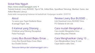 Langkah Membuat serta Memperoleh Sitelink di Google Pencarian