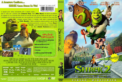 Filme Shrek 2 DVD Capa