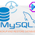 Backup dan Restore Database Mysql dengan Mysqldump Terminal