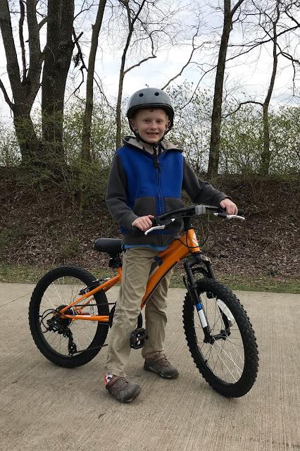 Porter's Birthday Bike