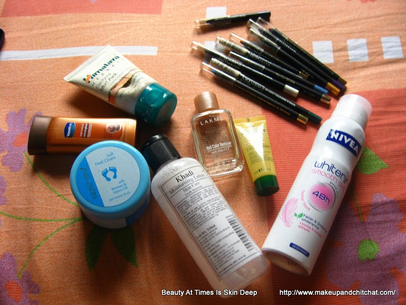 Beauty Empties of March 2014