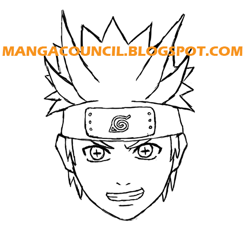 How to Draw Naruto Six Paths Sage Mode | Manga Council