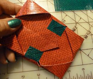 Duct tape tissue holder DIY