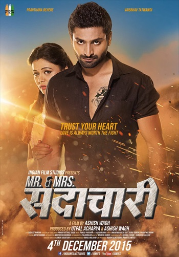 Mr And Mrs Sadachari 2016 Marathi CAMRip x264 700mb