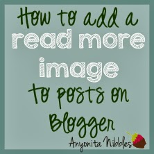 How to Add a Read More Image to Posts on Blogger by www.anyonita-nibbles.com