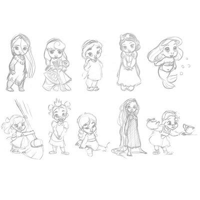 AMAZING COSMIC POWERS!!!!!!: Disney Animators Collection